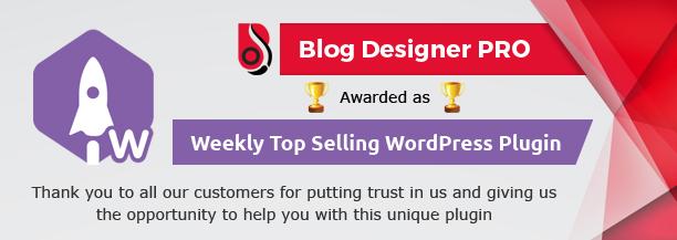 weekly top selling wordpress plugin