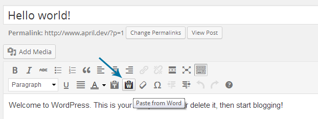multimedia support wordpress