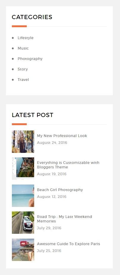 Bloggers-Sidebars
