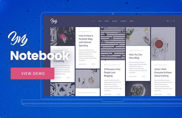 Yvy — BlogMagazine WordPress Theme
