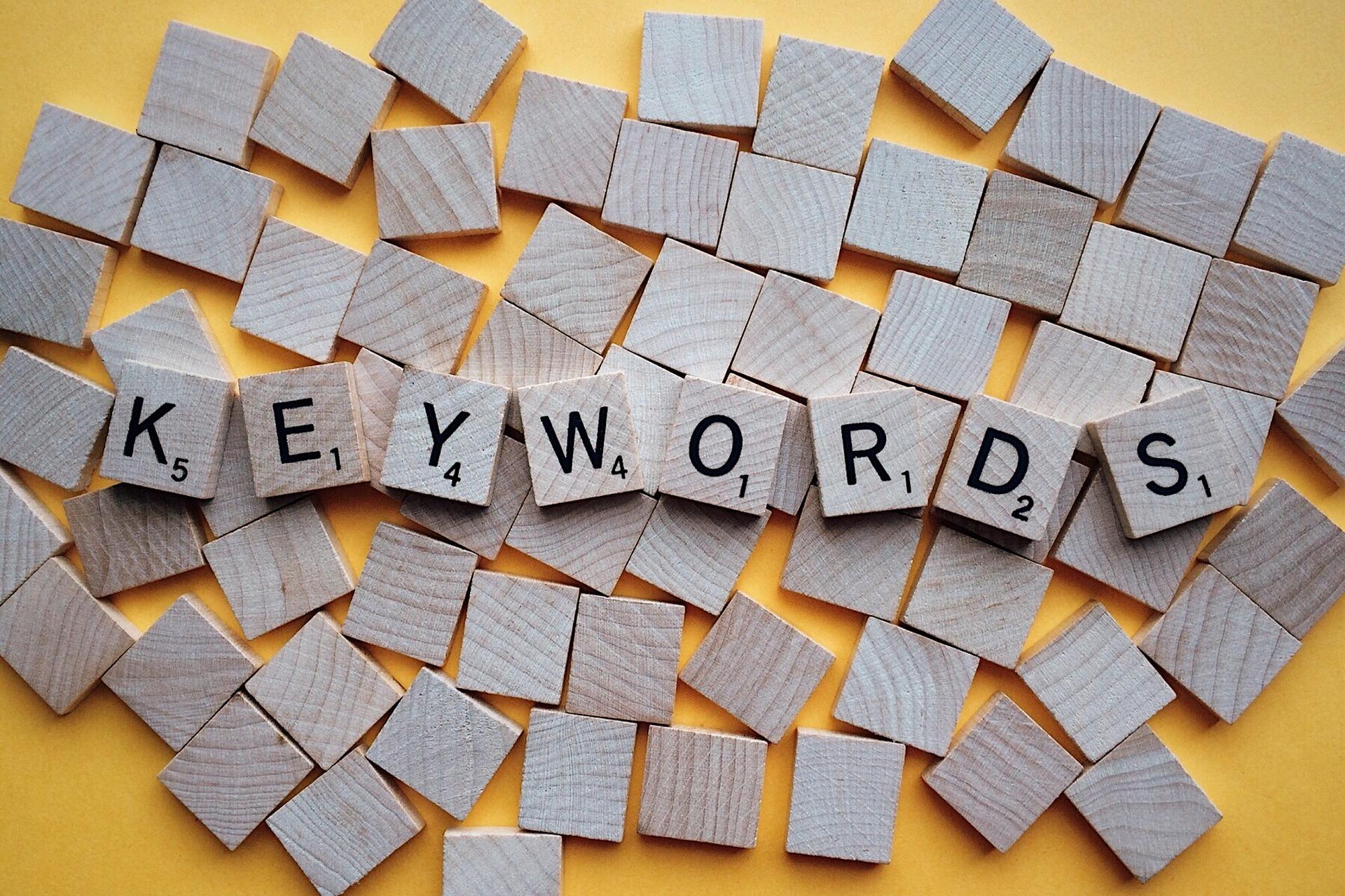 Keywords in Blogging