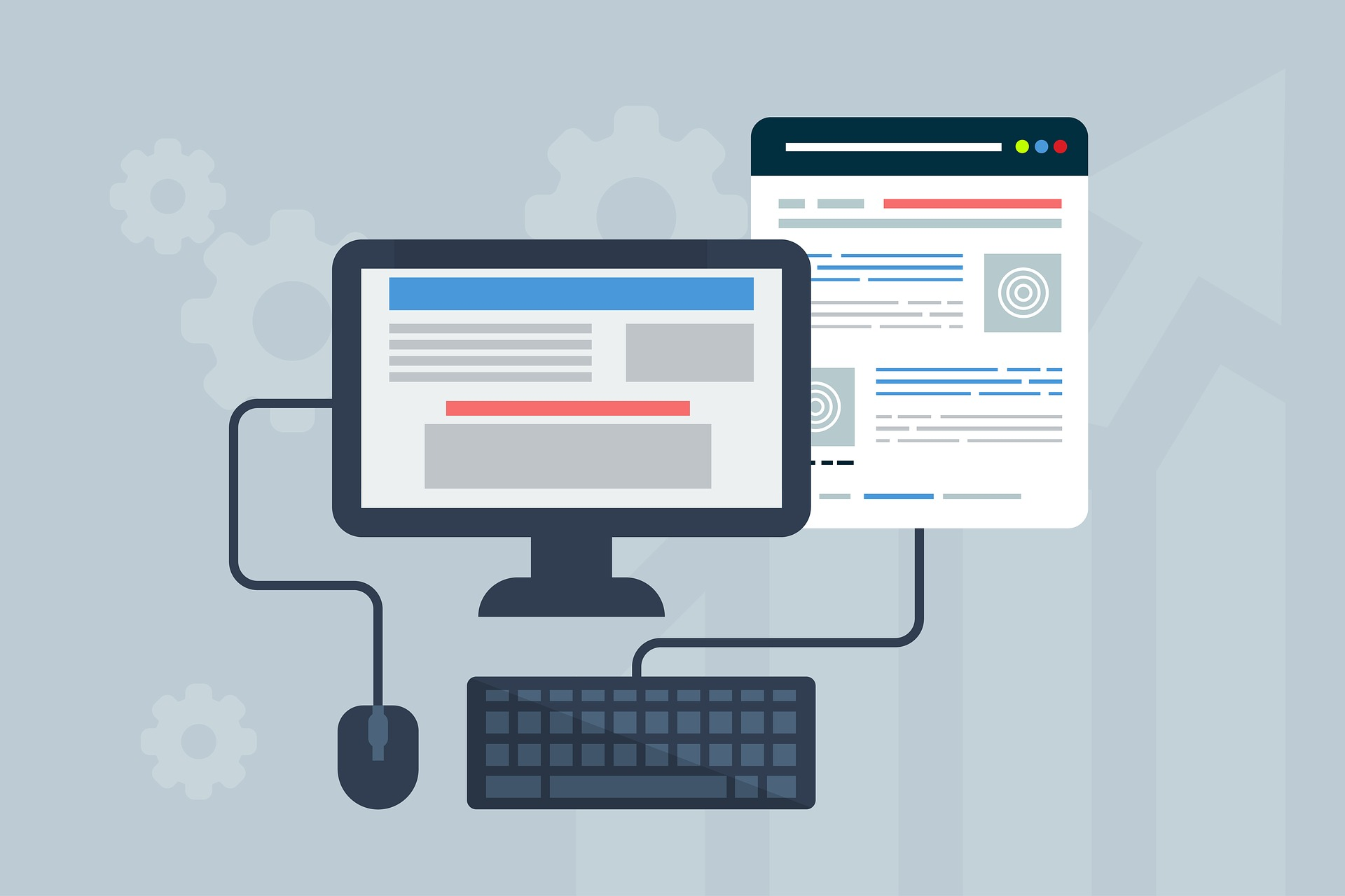 Mobile friendly blogging