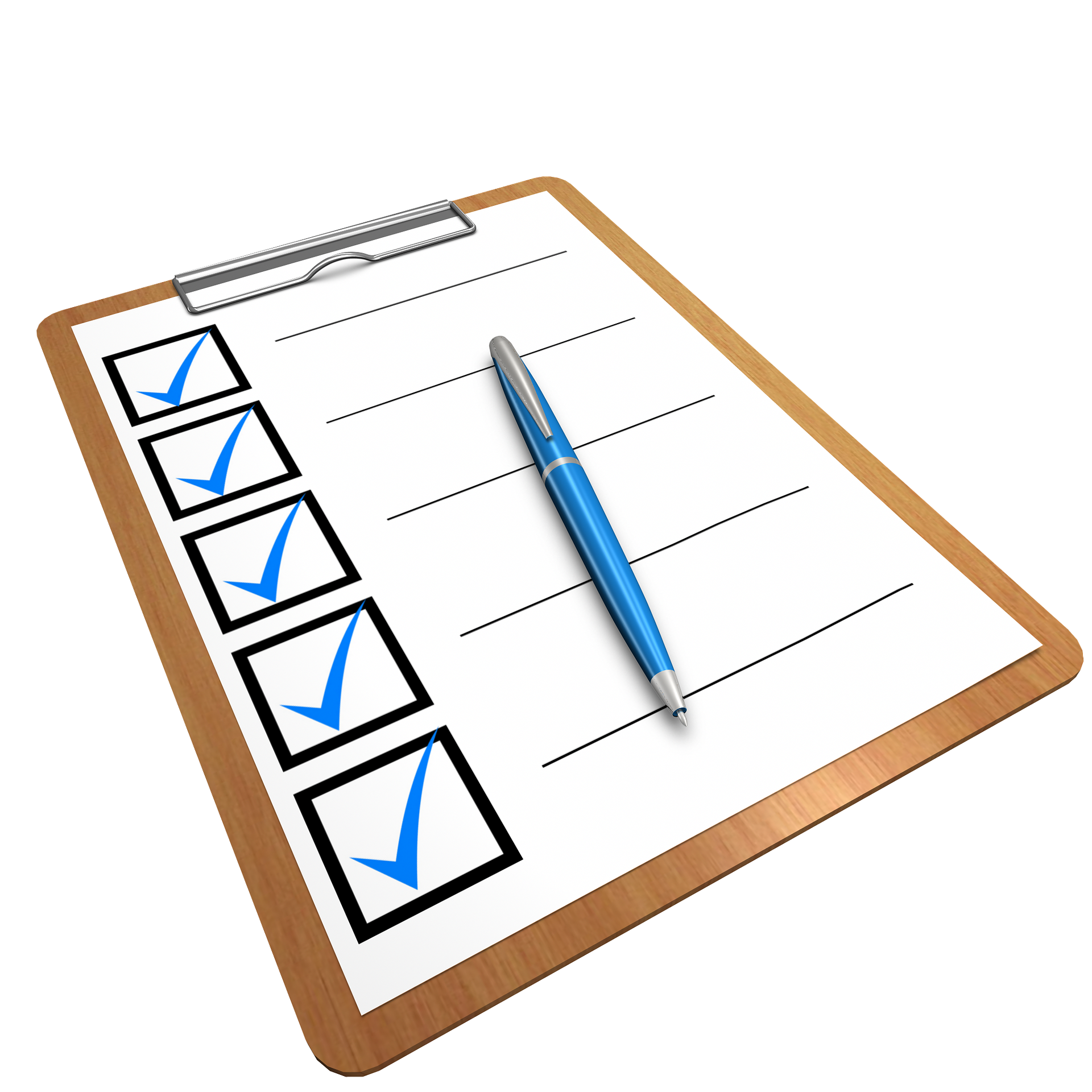 Blog Assessment Checklist